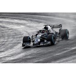 Aston Martin Red Bull Tag Heuer RB14 F1 Shakedown Livery Silverstone 2018 Daniel Ricciardo Minichamps 110180993