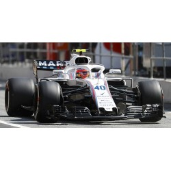 Williams Mercedes FW41 F1 Free Practice Espagne 2018 Robert Kubica Minichamps 110180540