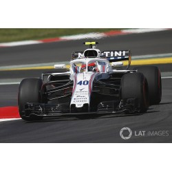 Williams Mercedes FW41 F1 Free Practice Espagne 2018 Robert Kubica Minichamps 417180540