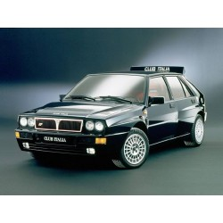 Lancia Delta Integrale Evolution Blue Club Italia 1992 Top Marques TOP1201E