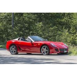 Ferrari SA Aperta Rosso Fuoco Silver Looksmart LS18FC08B