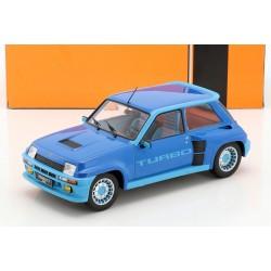 Renault 5 Turbo 1 Bleue 1981 IXO 18CMC005