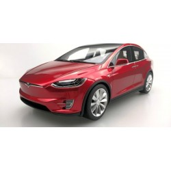 Tesla Model X Red 2016 LS Collectibles LS030B