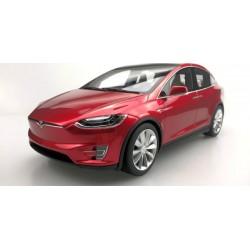 Tesla Model X Red 2016 LS Collectibles LS030B