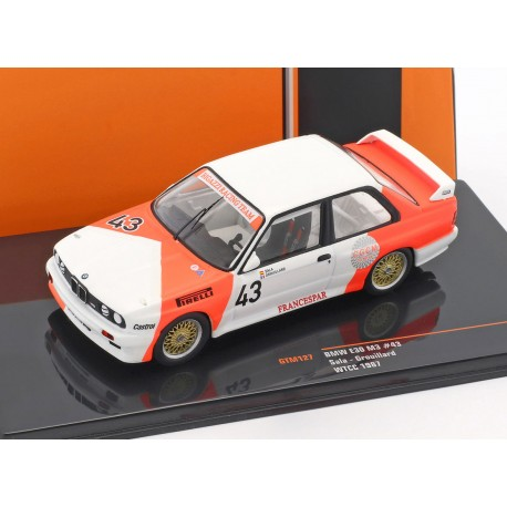 BMW M3 E30 43 WTCC 1987 Sala Grouillard IXO GTM127