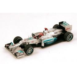Mercedes W03 F1 Brésil 2012 Michael Schumacher Spark S1009