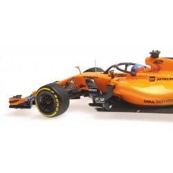 McLaren Renault F1 Showcar 2018 Fernando Alonso Minichamps 537189314