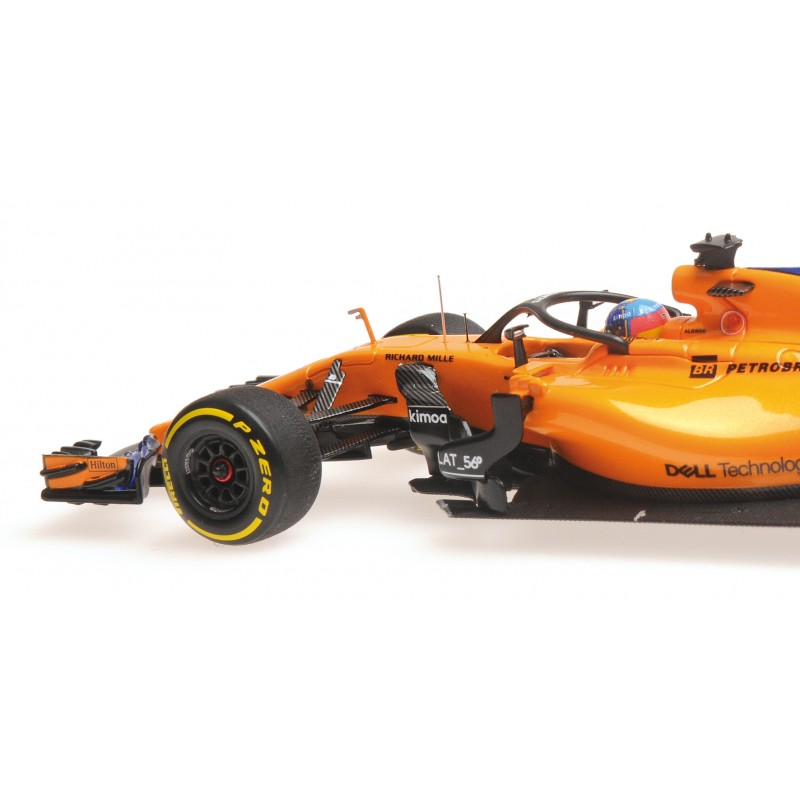 mclaren renault f1 showcar 2018 fernando alonso minichamps 537189314 miniatures minichamps. Black Bedroom Furniture Sets. Home Design Ideas