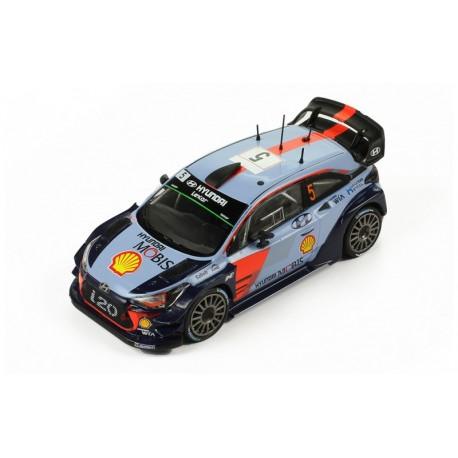 Hyundai i20 WRC 5 Rallye Monte Carlo 2017 Neuville Gilsoul IXO RAM644