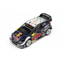 Ford Fiesta WRC 1 Rallye Monte Carlo 2018 Ogier Ingrassia IXO RAM661
