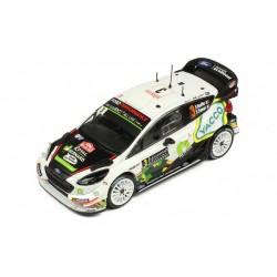 Ford Fiesta WRC 3 Rallye Monte Carlo 2018 Bouffier Panseri IXO RAM666