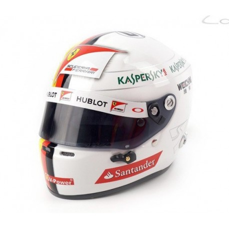Casque 1/2 Sebastian Vettel F1 2015 Sports Mini Line