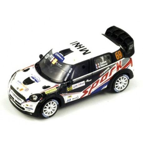 Mini John Cooper Works 69 WRC France 2012 Dumas Baumel Spark SF040