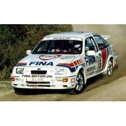 Ford Sierra Cosworth 16 WRC Portugal 1990 Duez Lopes Trofeu RRAL09