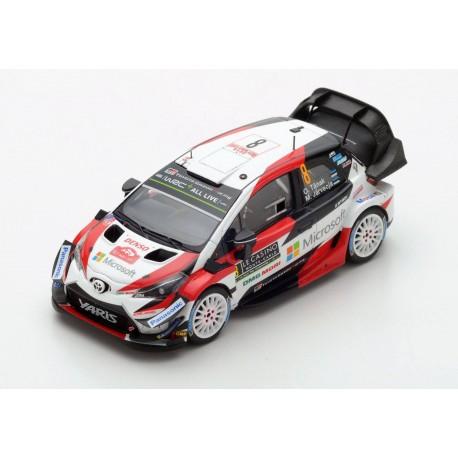 Toyota Yaris WRC 8 Rallye Monte Carlo 2018 Tanak Jarveoja Spark S5958