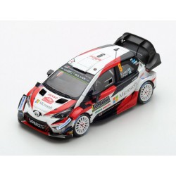 Toyota Yaris WRC 9 Rallye Monte Carlo 2018 Lappi Ferm Spark S5959