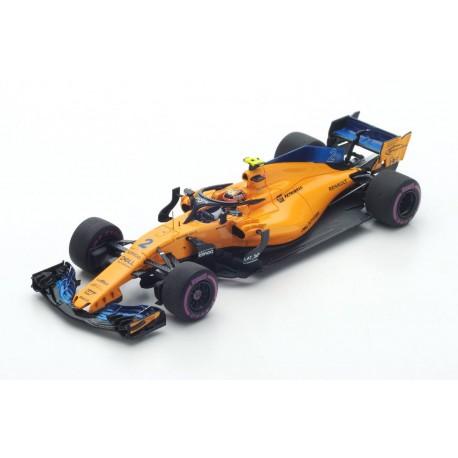 McLaren Renault MCL33 F1 2018 Stoffel Vandoorne Spark S6063
