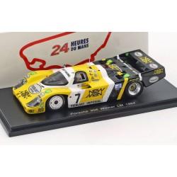 Porsche 956 7 Winner 24 Heures du Mans 1984 Spark S43LM84