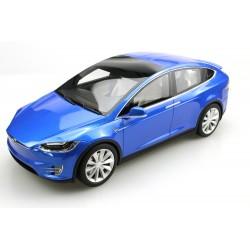 Tesla Model X Blue 2016 LS Collectibles LS030A