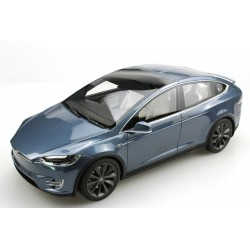 Tesla Model X Dark Blue 2016 LS Collectibles LS030C