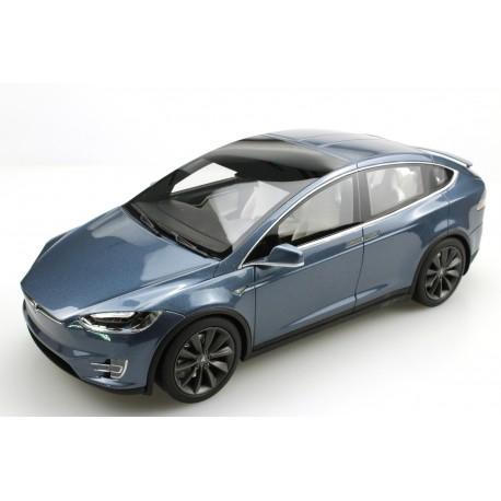 Tesla Model X Dark Blue 2016 LS Collectibles LS030C