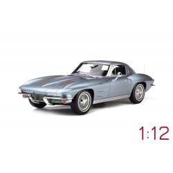 Chevrolet Corvette Silver Blue Metallic 1963 GT Spirit GT183