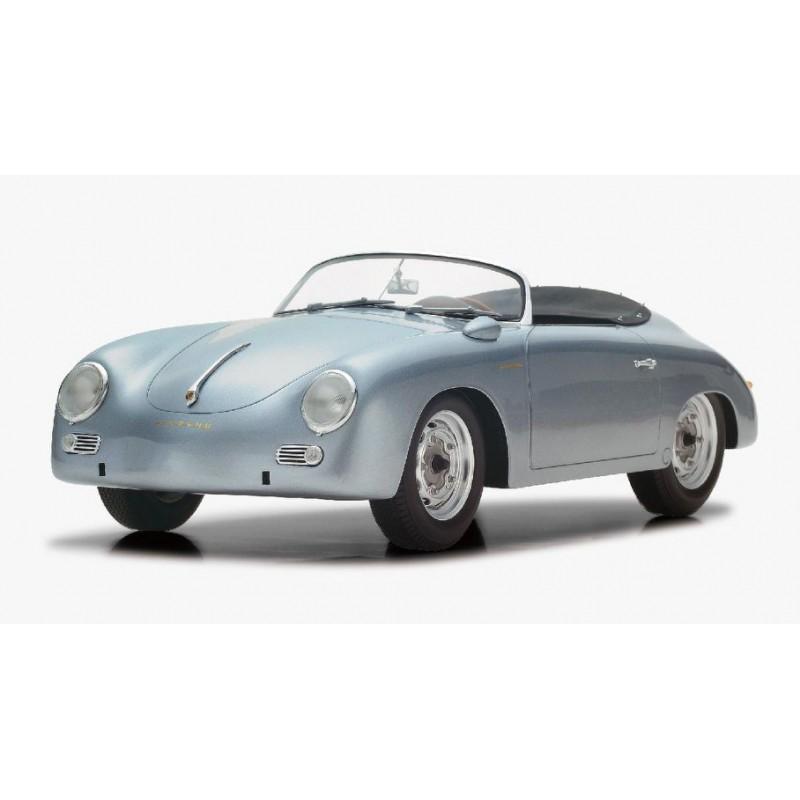 Silver Porsche 356: Porsche 356 Speedster Carrera 1956 Silver Spark 12S004