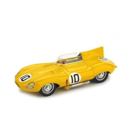 Jaguar D Type 10 24 Heures du Mans 1955 Brumm EF10