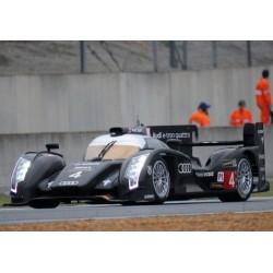 Audi R18 E-Tron Quattro 4 24 Heures du Mans 2013 Test Day IXO LMM242