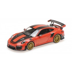 Porsche 911 Type 991/2 GT2 RS 2018 Orange Pack Weissach Minichamps 410067224