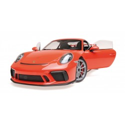 Porsche 911 GT3 2017 Orange Minichamps 110067022