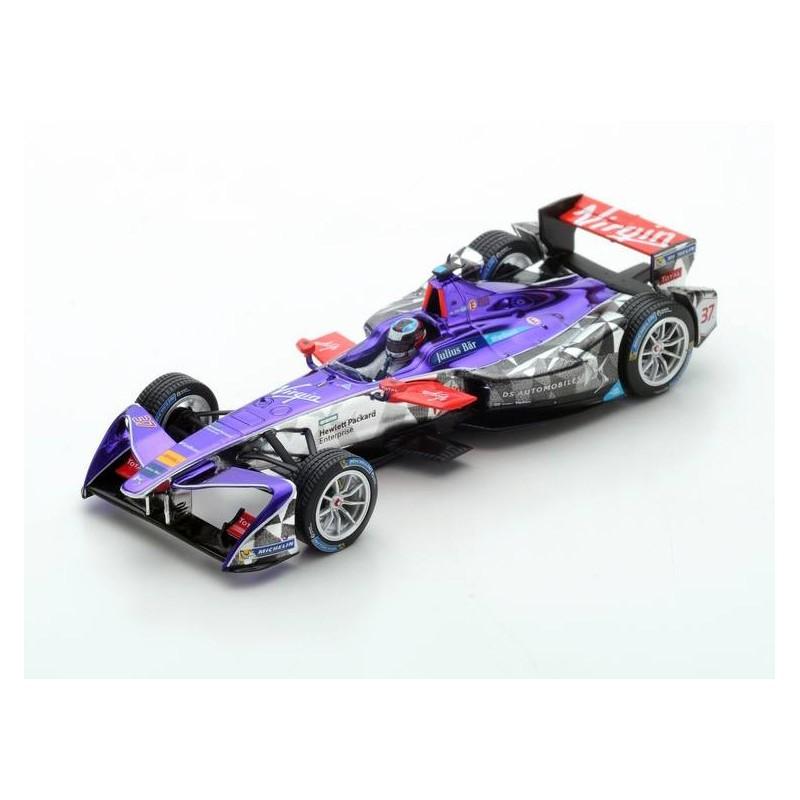 ds virgin racing 37 formula e paris round 6 2017 jos maria lopez spark s5909 miniatures. Black Bedroom Furniture Sets. Home Design Ideas