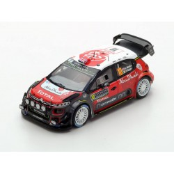 Citroen C3 WRC 10 Rallye Monte Carlo 2018 Meeke Nagle Spark S5960