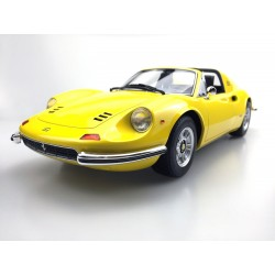 Ferrari Dino 246 GTS Yellow 1969 Top Marques TM1202D