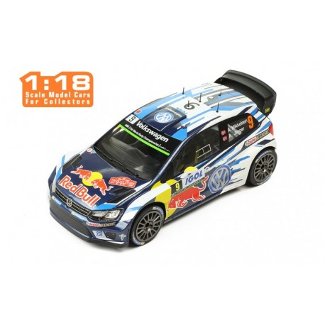 Volkswagen Polo R WRC 9 Tour de Corse 2016 Mikkelsen Jaeger IXO 18RMC018C