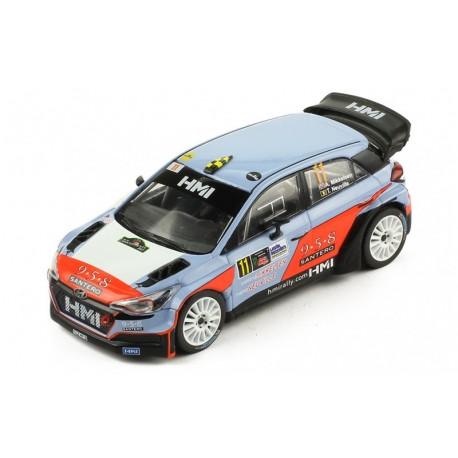 Hyundai NG i20 WRC 11 Monza Rally 2017 Neuville Mikkelsen IXO RAM660