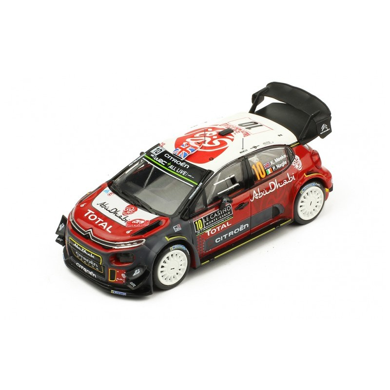 citroen c3 wrc 10 rallye monte carlo 2018 meeke nagle ixo ram662 miniatures minichamps. Black Bedroom Furniture Sets. Home Design Ideas