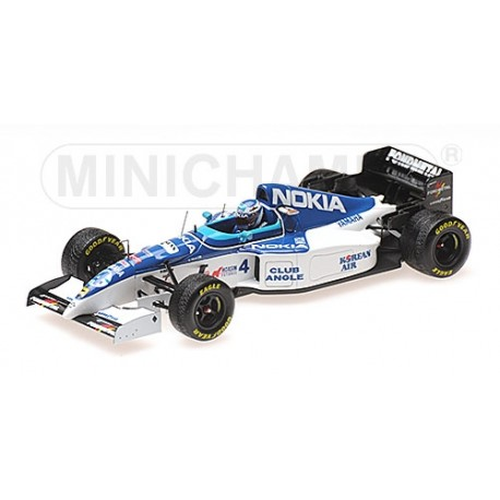Tyrrell Yamaha 023 F1 Belgique 1995 Mika Salo Minichamps 417950004