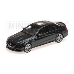 Brabus 600 AMG C63S 2015 Noire Minichamps 437036100