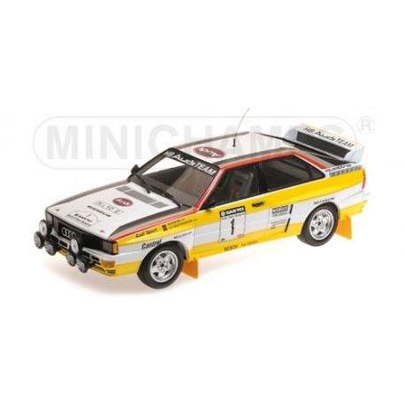 Audi Quattro A2 0 Rallye Nouvelle Zélande 1984 Rohrl Geistdorfer Minichamps 155841101