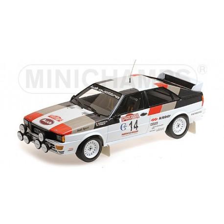 Audi Quattro 14 Rallye Sanremo 1981 Mouton Pons Minichamps 155811114