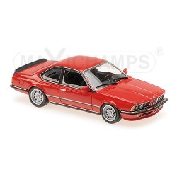 BMW 635 CSI E24 1982 Red Minichamps 940025122