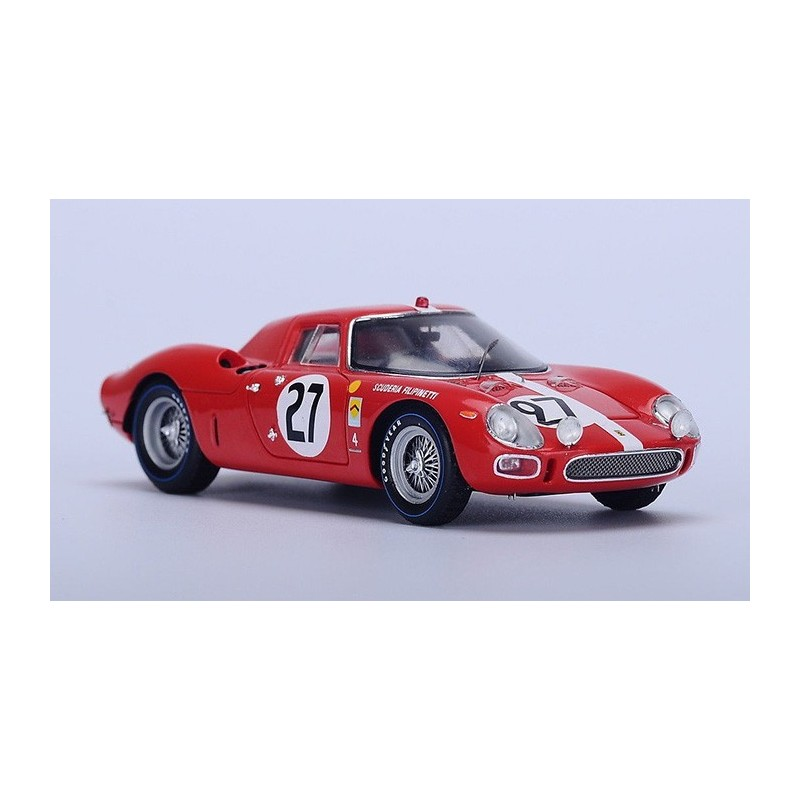 ferrari 250lm 27 24 heures du mans 1965 looksmart lslm018 miniatures minichamps. Black Bedroom Furniture Sets. Home Design Ideas