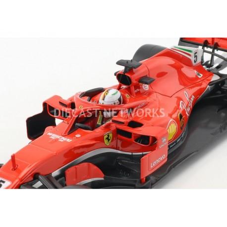 Ferrari SF71H F1 2018 Sebastian Vettel Bburago 16806V