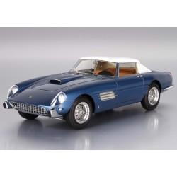 Ferrari Superfast 4.9 chassis 0719 SA Metal Light Blue / White 1957 BBR BBR1833