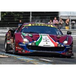 Ferrari 488 GTE 51 24 Heures du Mans 2018 BBR BBRP18153A