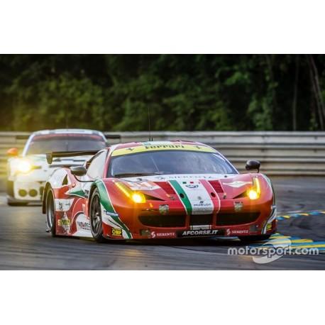 Ferrari 458 GTE 61 24 Heures du Mans 2015 Looksmart LSLM027