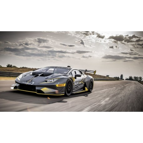 Lamborghini Huracan Super Trofeo Evo Shiny White 2018 Looksmart