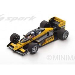 Minardi M187 F1 Monaco 1987 Alessandro Nannini Spark S4306