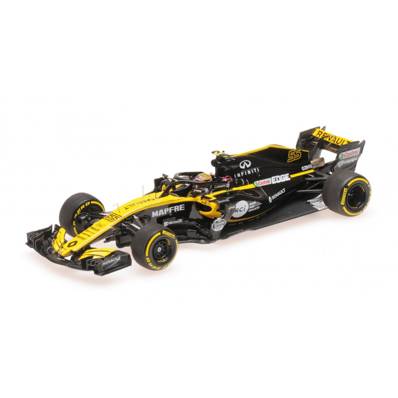 renault rs18 f1 2018 carlos sainz jr minichamps 417180055 miniatures minichamps. Black Bedroom Furniture Sets. Home Design Ideas